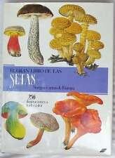 EL GRAN LIBRO DE LAS SETAS - SETAS Y HONGOS DE EUROPA - SUSAETA 1989 VER INDICE