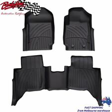 Premium FORD RANGER PX1 PX2 2012on 3D LASER FLOOR MATS FLOORLINERS CAR