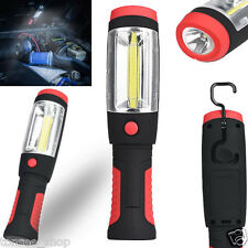 2in1 COB LED Camping Work Inspektion Licht Lamp Hand Torch Magnetic Taschenlampe