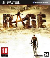 RAGE GIOCO SONY PLAYSTATION 3  PS3 NUOVO VERSIONE UFFICIALE ITALIANA  COMPLETO