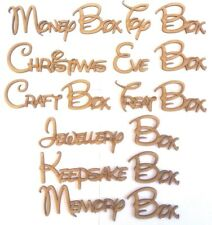DISNEY FONT PERSONALISED BOX PLAQUES 8 DESIGNS & ANY NAME(S) sign craft letters