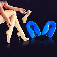 Gel Plantar Fasciitis Spur Pad Shoes Insole Insert Support Heel Pain-Relief