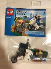 LEGO City Crook Pursuit with Motorcycle (60041)