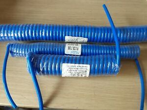 5/10 Meter Polyurethane Pipe hose Coiled PU Air Pneumatic Tube 4/5mm 6.5mm 8mm