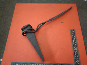 Vintage Blacksmith hot set wedge DR01J377