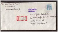 BRD, Einschreiben MiNr. 1142 EF Herrsching am Ammersee 1986