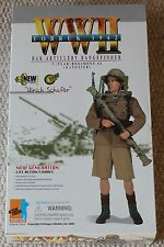 """Dragon Action Figure tedesco Ulrich AFRIKA KORP 1/6 12"""" in scatola ha fatto Cyber HOT Toy"""