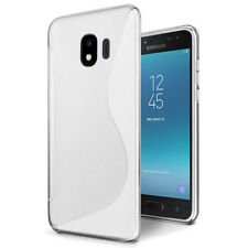 Samsung Galaxy J2 Pro 2018 S Curved Soft Gel TPU Shockproof Case Cover