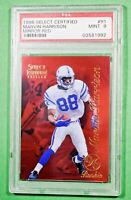 1996 Select Certified MARVIN HARRISON #91 Mirror Red SP Rookie PSA 9 🏦 Colts