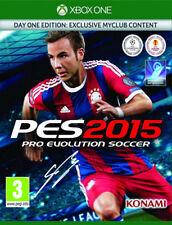 Pro Evolution Soccer 2015 -- Day 1 Edition (Microsoft Xbox One, 2014)