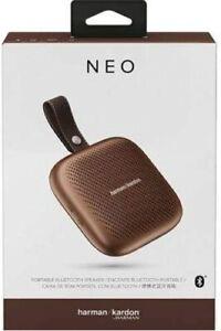 Harman Kardon Neo Portable Wireless Bluetooth Speaker Copper Bronze Phone Tablet