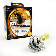 Philips H4 12V ColorVision Color Vision yellow +60% mehr Licht 2st. 12342CVPY