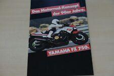201850) Yamaha FZ 750 Prospekt 01/1985