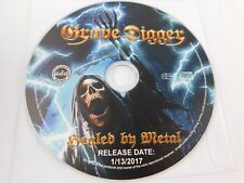 GRAVE DIGGER- HEALED BY METAL 1-13-2017 PROMO-CD