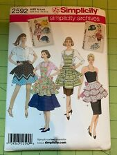SIMPLICITY McCALLS APRON SEWING PATTERN SEVERAL DESIGNS YOUR CHOICE