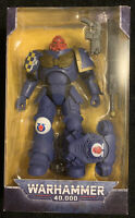 "McFarlane Warhammer 40K Ultramarines Primaris Assault Intercessor 7"" Figure NEW"