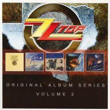 ZZ Top ORIGINAL ALBUM SERIES VOL 2 Afterburner RECYCLER First Album NEW 5 CD