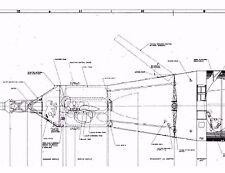 Nasa Saturn 1B High Definition Blueprints Cd