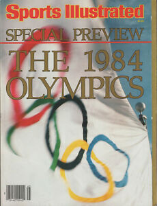 """1984 Sports Illustrated Special Preview """"The 1984 Olympics"""""""