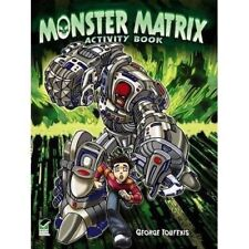 Monster Matrix Activity Book     by G Toufexis