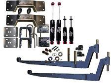 """Ford F250 F350 81-86 8 lug drop Kit 3"""" front 7"""" rear 1 1/16"""" 1450SL/1800LL   xzx"""