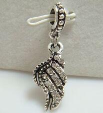 European Silver Charm Bead Fit sterling 925 Necklace Bracelet Chain US asl28
