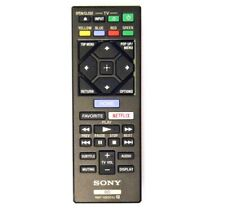 SONY RMT-VB201U Blue-Ray DVD Player with Netflix Button REPLACE Remote Control