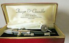 Thayer & Chandler Artist's Air Brushes w/Case, No. 07055 Chicago