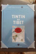 BD les archives tintin au tibet hergé neuf emballé 2010