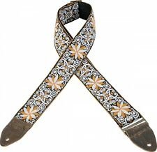 Levy's Guitar Strap JIMI HENDRIX Yellow Flowers VINTAGE Woven Ace Levys M8HTV-13