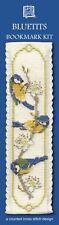 Pájaros Pájaros Marcapáginas KIT DE PUNTO DE CRUZ Textile Heritage