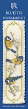 BLUETITS Birds Bookmark Counted Cross Stitch Kit Textile Heritage