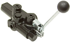 1 SPOOL 20 GPM PRINCE RD-2575-T3-ESA1 SINGLE ACTING OPEN CENTER VALVE 9-6763