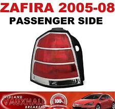 VAUXHALL ZAFIRA B REAR BACK LIGHT 05-08 PASSENGER NEAR SIDE CDTI ECOFLEX LIFE