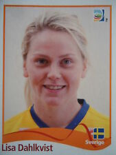 PANINI Lisa Dahlkvist SVEZIA fifa donne WM 2011 GERMANY