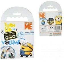 Colouring Book and Crayons Despicable Me MINIONS kids child