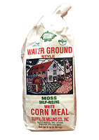 Moss Self-Rising White Corn Meal 5 Pound Bag
