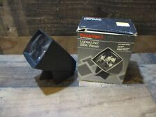 Vintage pana-vue 1 lighted 2X2 slide viewer work with box