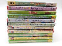 Sesame Street / Elmo Lot of 11 Kids DVDs - No Duplicates!