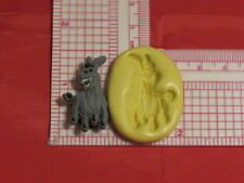 Donkey Shrek Character Silicone Mold #101 For Chocolate Candy Resin Fimo Craft