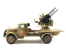 1:32 21st Century Toys Ultimate Soldier WWII Afrika German Flak Opel Blitz Truck
