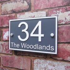 Signe/plaque de porte modernes pour la décoration intérieure de la maison