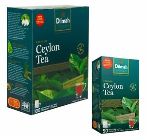 Ceylon BOPF Black Tea Bags BOPF DILMAH PREMIUM Natural Finest Free Shipping