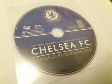 Chelsea FC Vs Versus Bayern Munich 2012 UEFA Final Official UK Region Free DVD