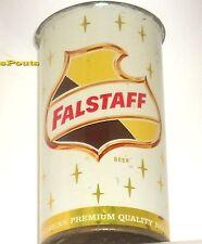 1960 Gold Falstaff 11oz Flat Top Beer Can Omaha,Ne.Nebraska America Quality Brew