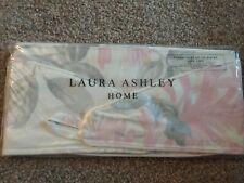 Laura Ashley Honeysuckle Trail Cyclamen Curtain Tie Backs Pair Pink