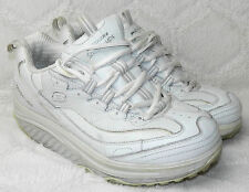 Skechers Shape Ups Womens 8 Sneakers Shoes Walking Toning Exercise White 11800 P