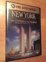 PBS DVD GOLD New York - Center Of The World (Part 8) BRAND NEW & FACTORY SEALED
