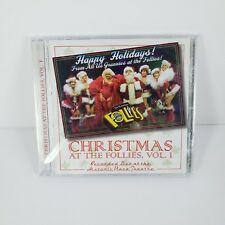 Christmas at the Follies CD Live Volume 1 Palm Springs Plaza Theatre New Sealed