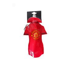 Manchester United FC Flat Water Bottle Official Football Fan Gym Sports School